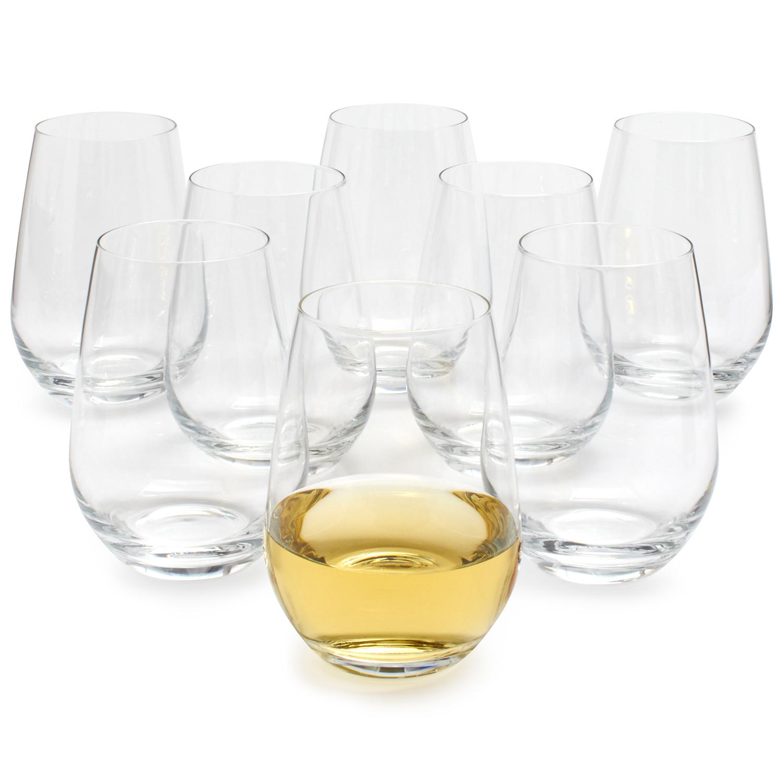 Schott Zwiesel Stemless Wine Glasses Set Of 8 Sur La Table