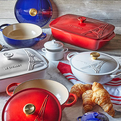 Le Creuset Eiffel Tower cookware