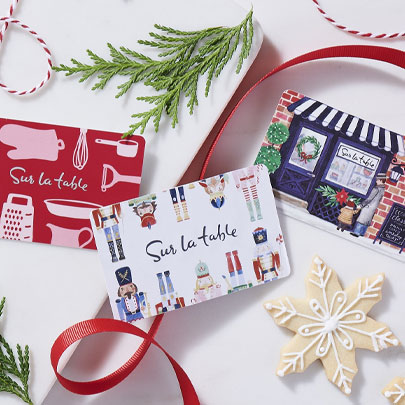 Sur La Table Holiday Gift Cards