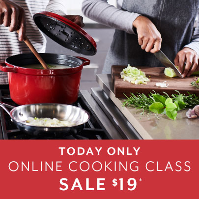 Online Cooking Classes with Sur La Table $19 today only