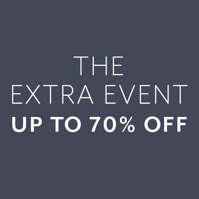 the extra event up to 70% off