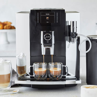 Jura E8 coffee and espresso machine