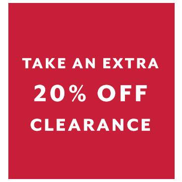 Clearance extra 20% off