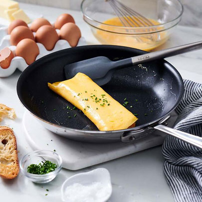 All-Clad stainless steel nonstick skillet and spatula, Cookware Sale up to 50% off