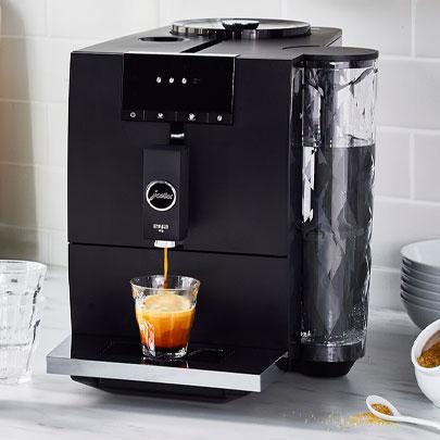 JURA ENA 4 coffee and espresso maker in black