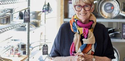Shirlet Collins, founder of Sur La Table