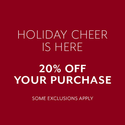 20% Off your purchase with code BOW19
