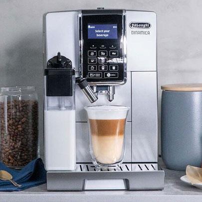 De'Longhi Dinamica Fully Automatic Espresso Machine with LatteCrema