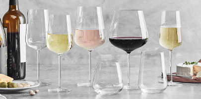 Schott Zwiesel Vervino stemware and glassware