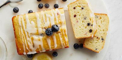 blueberry lemon loaf baking mix