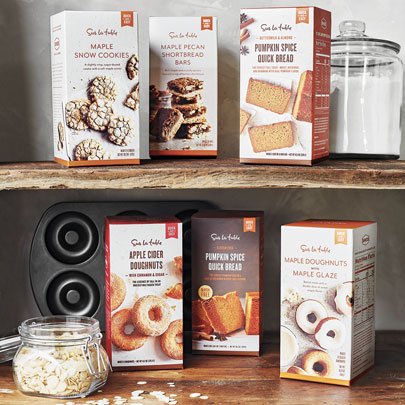 Sur La Table Baking Mixes by Baked NYC