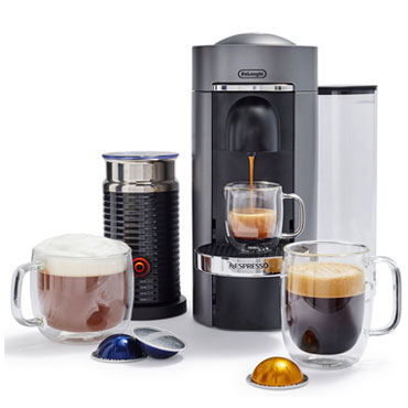 Nespresso VertuoPlus Deluxe by De'Longhi with Aeroccino3 Frother