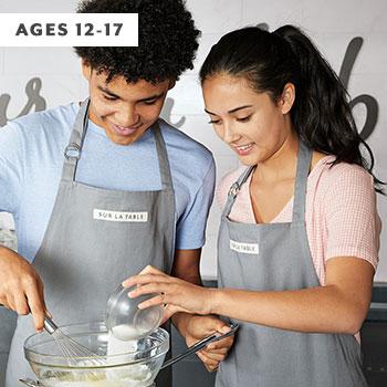 teens making homemade pasta sheets