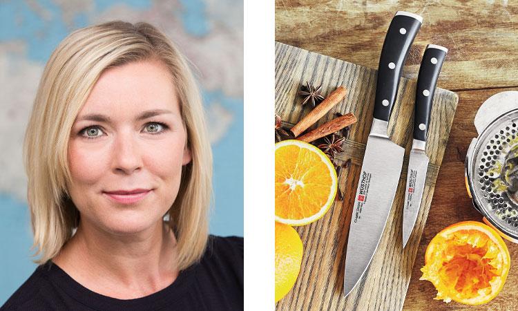 VIOLA WÜSTHOF and Wusthof knives
