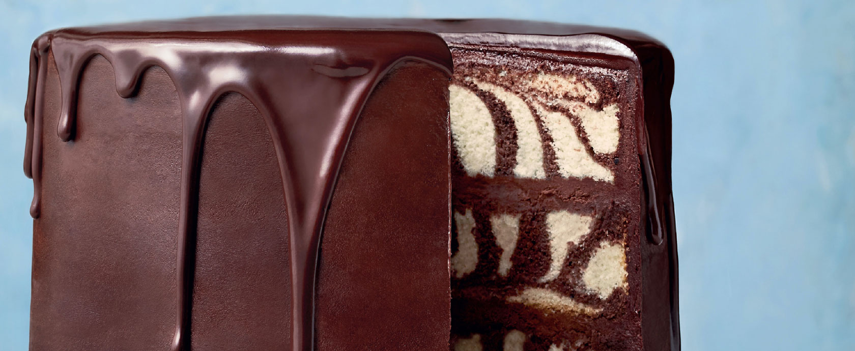 Martha Stewart's chocolate marble cake