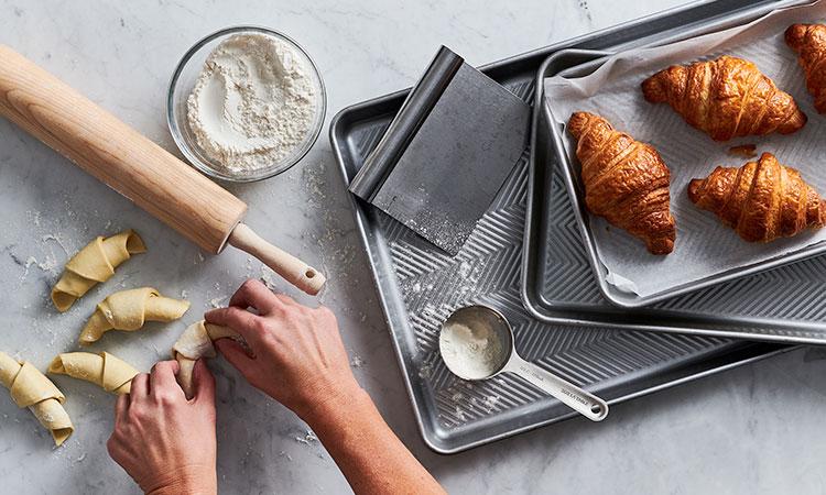 Sur La Table online cooking class croissants workshop.