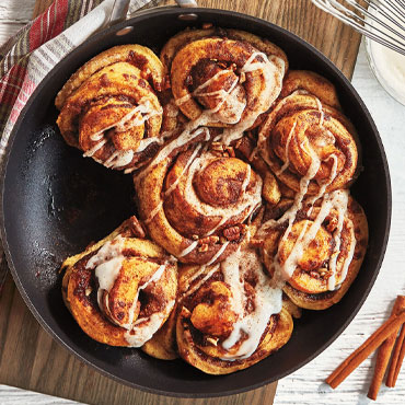 Prep Now, Eat Later: Cinnamon Rolls online cooking class