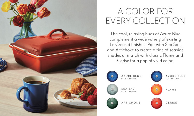Le Creuset colors for every collection