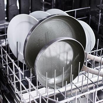 GreenPan cookware in dishwasher