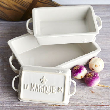 ONLY AT SUR LA TABLE La Marque baking dishes