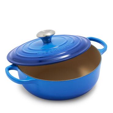 Le Creuset Sauteuse in Azure blue