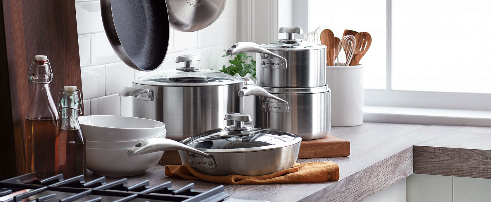 Scanpan CS+ nonstick cookware