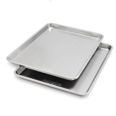 Nordic Ware Naturals for Sur La Table Half-Sheet Pans, Set of 2