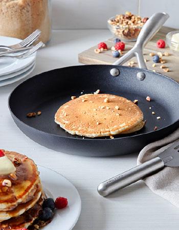 Scanpan Pro S+ nonstick skillet with pancake