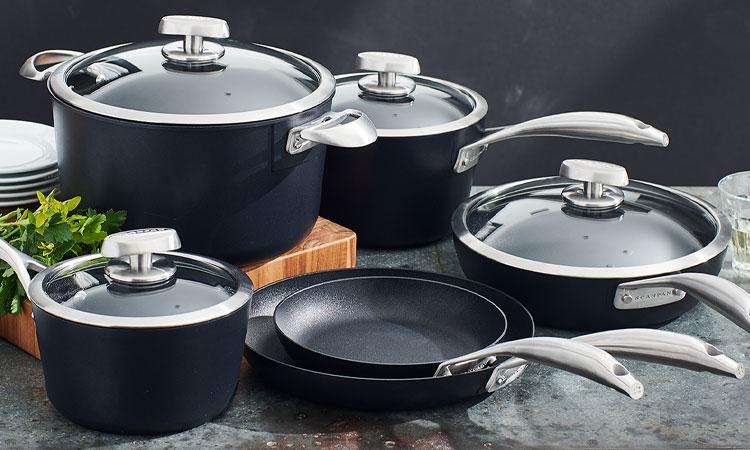 SCANPAN PRO S+ cookware