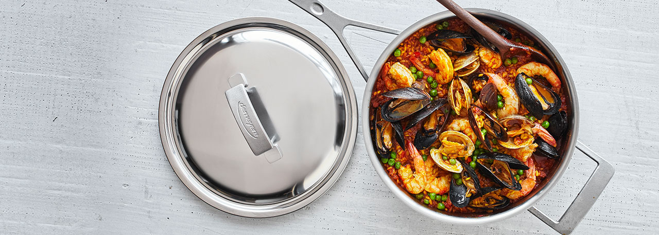 Demeyere stainless steel cookware