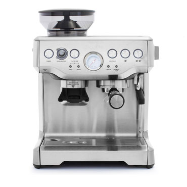 Breville Barista Express Espresso Machine in stainless steel