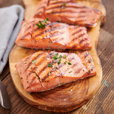 grilled salmon, Feast on Summer's Flavors cooking class