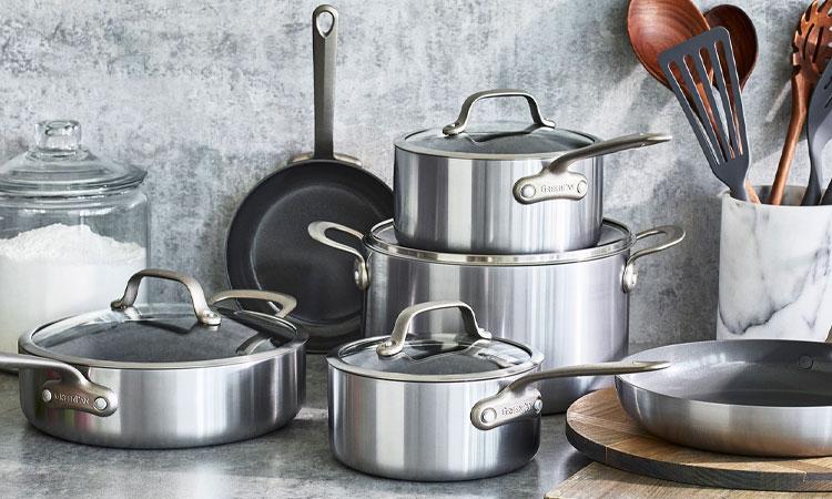 GreenPan Craft Steel cookware set