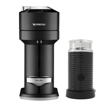 Nespresso Vertuo Next with Aeroccino 3 by Breville