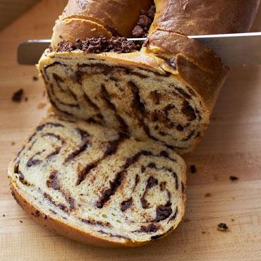 French Brioche Bread with swirl