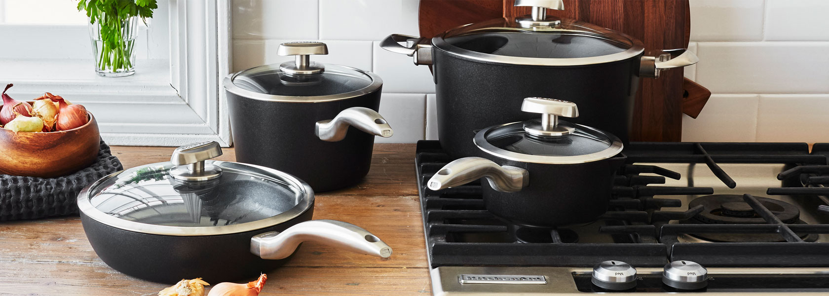 Scanpan gift with purchase of $200 or more.