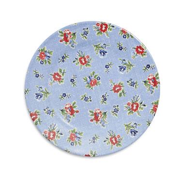 Summerhouse Dinner Plate in blue floral
