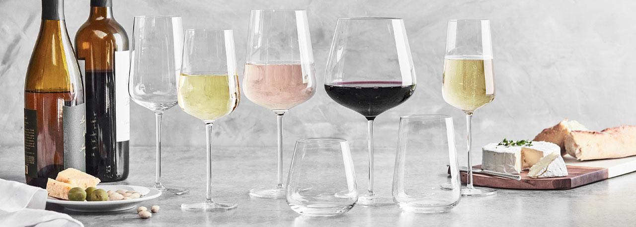 Schott Zwiesel Vervino glasses and stemware