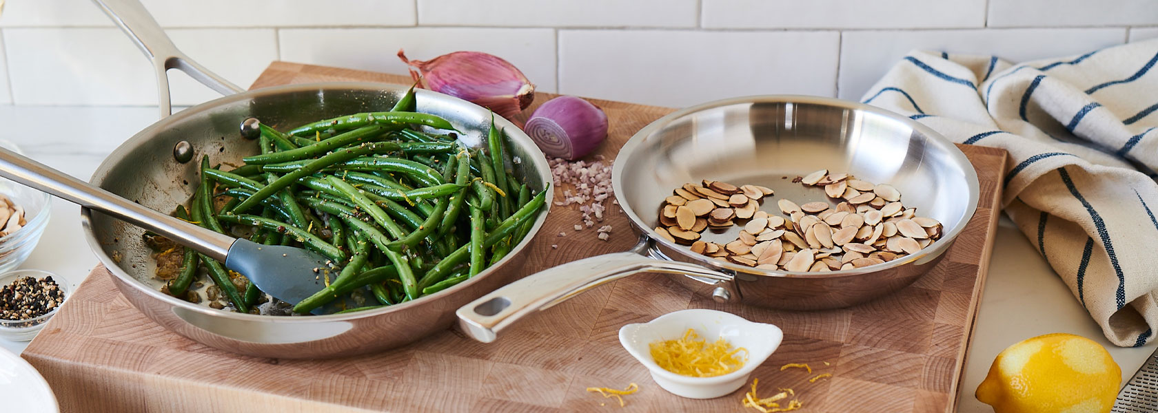 Sur La Table stainless steel cookware