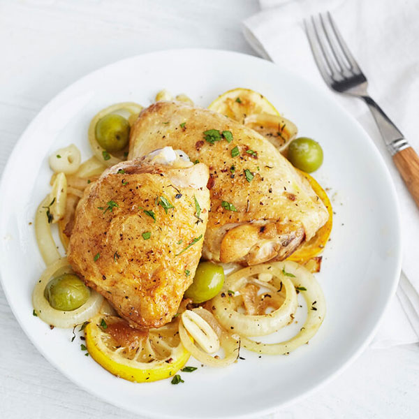 Instant Pot Lemon Chicken with Green Olives