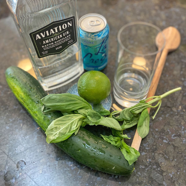 garden gin and tonic ingredients