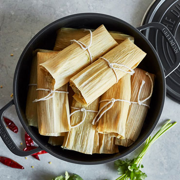 Prep Now, Eat Later: Traditional Tamales Cooking Class