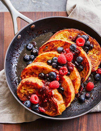 Scanpan nonstick skillet with french toast
