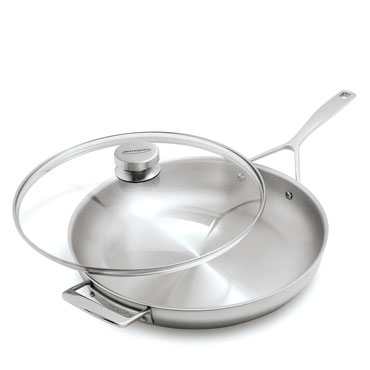 Demeyere Essential5 Skillet with Lid, 12.5