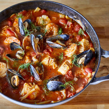 Catch of the Day: Cioppino Cooking Class