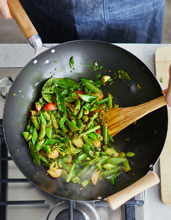 Sur La Table wok in cookware