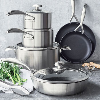 Scanpan CS+ cookware