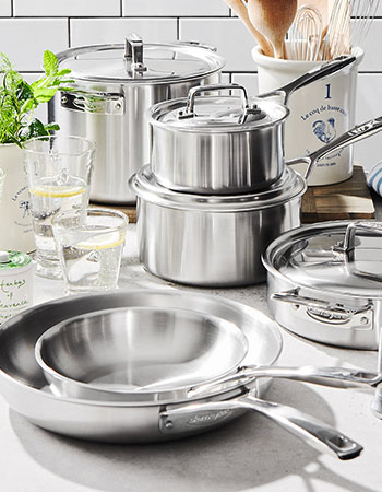 Demeyere Essential5 stainless steel cookware