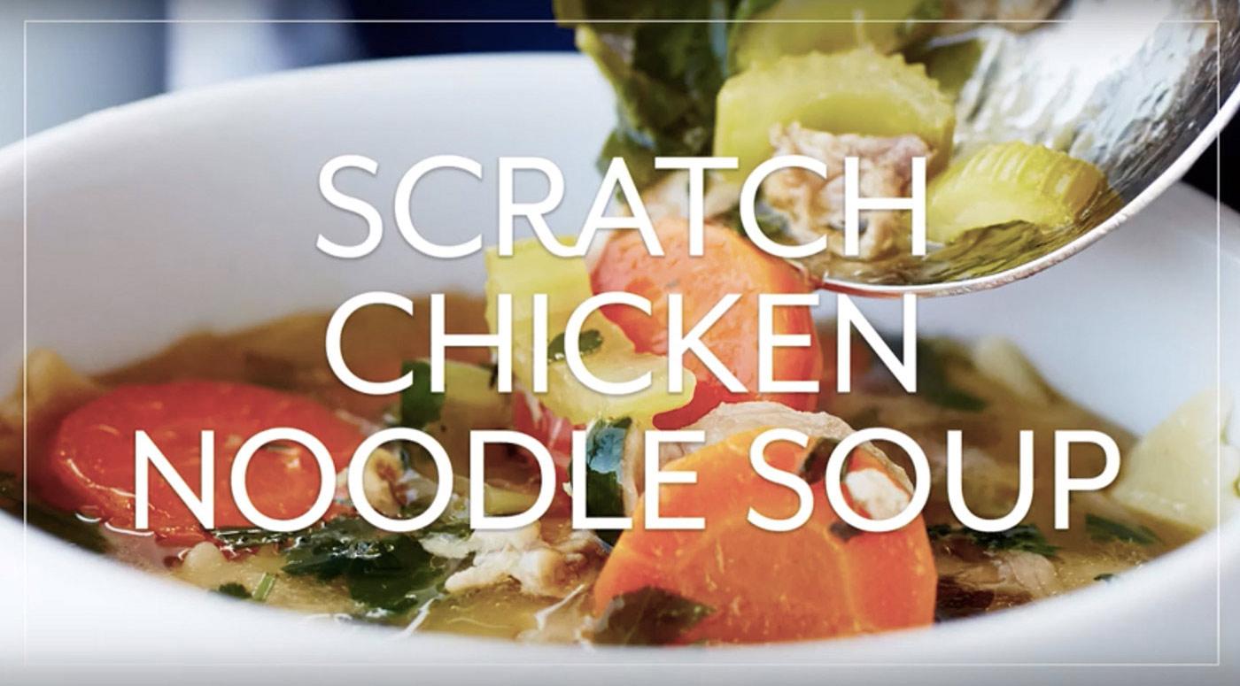Scratch Chicken Soup