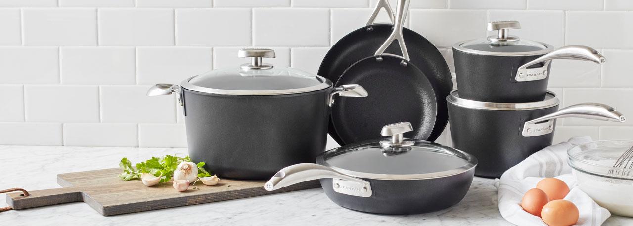 Scanpan Pro S+ nonstick cookware set